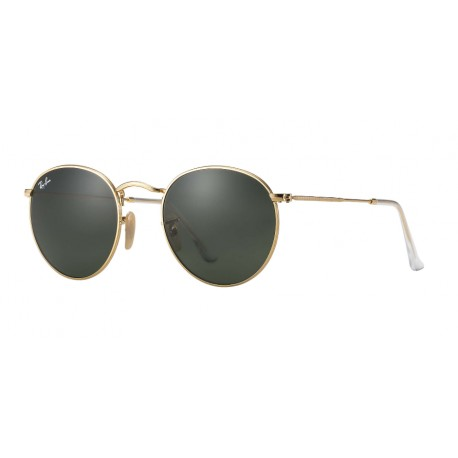 RAY-BAN ROUND METAL RB3447 001 50-21